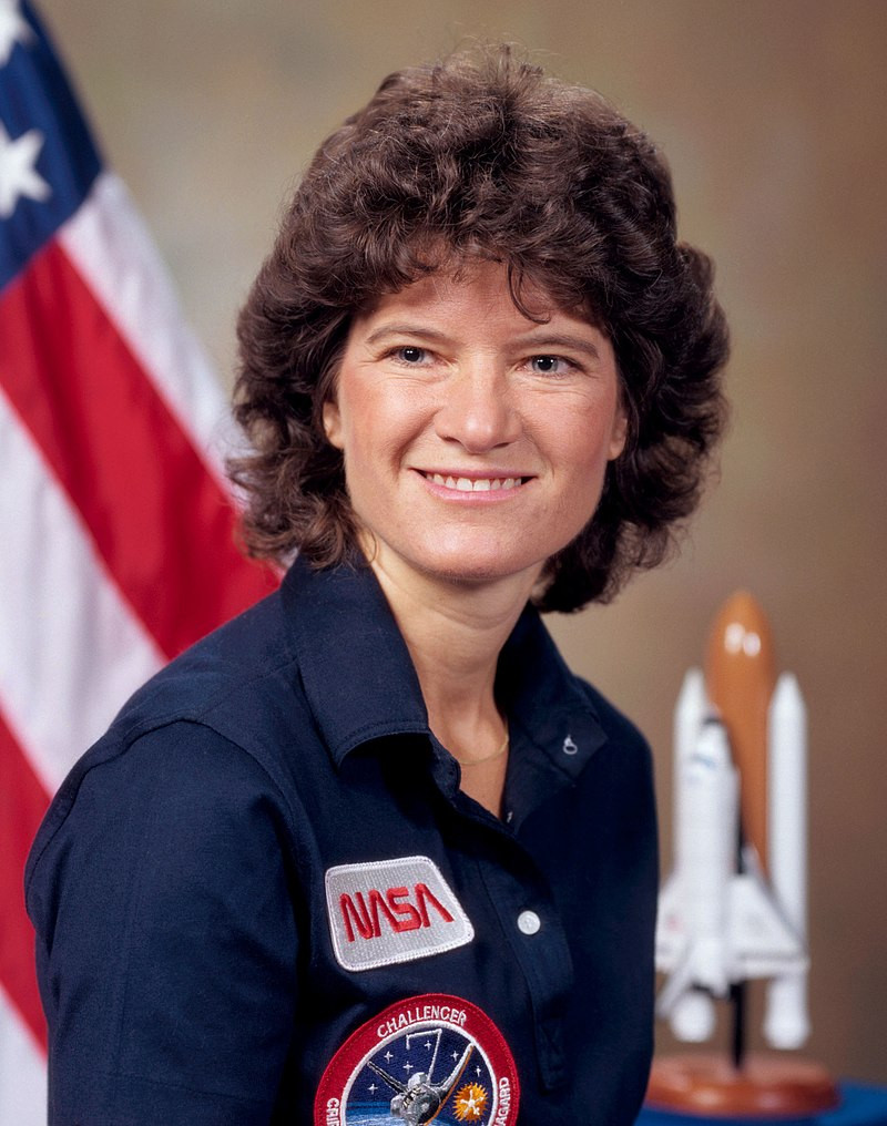 Sally-Ride-First-American-Woman-In-Space