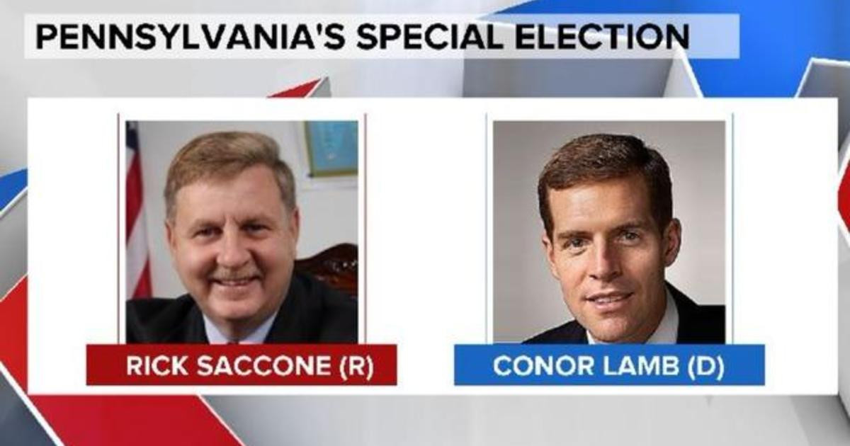 Special Election in Pennsylvania-Lamb-vs-Saccone